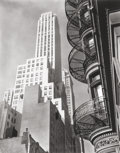 Photographs, BERENICE ABBOTT (American, 1898-1991). Murray Hill Hotel, Spiral, New York, 1935. Gelatin silver, printed 1982. 23 x 18-...