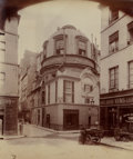 Photographs:Historical Photographs, EUGÈNE ATGET (French, 1857-1927). Hotel Collert, circa 1900. Vintage albumen. 8-1/4 x 7 inches (21.0 x 17.8 cm). Titled ...
