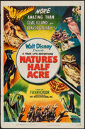 """Movie Posters:Documentary, Nature's Half Acre (RKO, 1951). One Sheet (27"""" X 41""""). Documentary.. ..."""