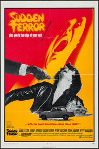 "Sudden Terror & Other Lot (National General, 1971). One Sheets (2) (27"" X 41""). Thriller. ... (Total: 2 It..."