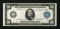 Large Size:Federal Reserve Notes, Fr. 1011b $20 1914 Federal Reserve Note Very Fine....