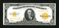 Large Size:Gold Certificates, Fr. 1173 $10 1922 Gold Certificate Very Fine....