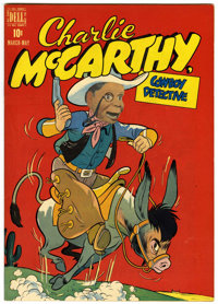Charlie McCarthy #1 (Dell, 1949) Condition: VF
