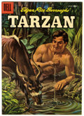 Silver Age (1956-1969):Adventure, Tarzan #78 (Dell, 1956) Condition: VF/NM....