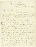 Autographs:Military Figures, Union General James B. McPherson War Dated Autograph LetterSigned...
