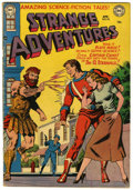 Golden Age (1938-1955):Science Fiction, Strange Adventures #19 (DC, 1952) Condition: VG-....