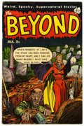 Golden Age (1938-1955):Horror, The Beyond #19 (Ace, 1953) Condition: GD+....
