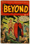 Golden Age (1938-1955):Horror, The Beyond #6 (Ace, 1951) Condition: GD/VG....
