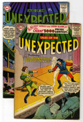 Silver Age (1956-1969):Horror, Tales of the Unexpected #5 and 20 Group (DC, 1956-57) Condition:Average VG.... (Total: 2 Comic Books)