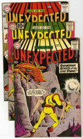 Silver Age (1956-1969):Horror, Tales of the Unexpected Group (DC, 1960-63) Condition: AverageFN/VF.... (Total: 4 Comic Books)