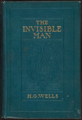 Books:Science Fiction & Fantasy, H. G. Wells. The Invisible Man. New York: [n. d.]....