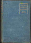 Books:Philosophy, H. G. Wells. Certain Personal Matters. London: 1898....