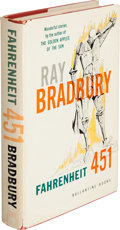Books:Science Fiction & Fantasy, Ray Bradbury. Fahrenheit 451. New York: Ballantine Books,Inc., [1953]. First hardcover trade edition, signed by B...