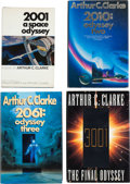 Books:Science Fiction & Fantasy, Arthur C. Clarke. The Odyssey Series, including: 2001 ASpace Odyssey; 2010: Odyssey Two;... (Total: 4 Items)