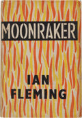 Books:Literature 1900-up, Ian Fleming. Moonraker. London: Jonathan Cape, [1955]. Firstedition, first impression, second state, binding A (as ...