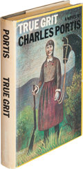 Books:Literature 1900-up, Charles Portis. True Grit. New York: Simon and Schuster,[1968]. First edition. Warmly inscribed by the author on ...