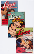 Golden Age (1938-1955):Romance, Love Experiences Group (Ace, 1950-55) Condition: Average VG/FN....(Total: 12 Comic Books)