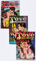 Golden Age (1938-1955):Romance, Love At First Sight Group (Ace, 1950-56) Condition: AverageVG/FN.... (Total: 21 Comic Books)