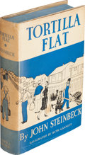 Books:Literature 1900-up, John Steinbeck. Tortilla Flat. Illustrated by Ruth Gannett.New York: Covici-Friede, [1935]. First trade edition, ha...