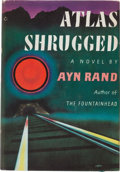 Books:Literature 1900-up, Ayn Rand. Atlas Shrugged. New York: Random House, [1957].First edition. Signed by Rand on the front free endpaper...