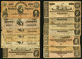 Confederate Notes:Group Lots, A Veritable Hoard of Thirty-Eight Confederate Notes.. ... (Total:38 notes)