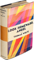 Books:Literature 1900-up, Thomas Wolfe. Look Homeward, Angel. A Story of a BuriedLife. New York: Charles Scribner's Sons, 1929. First editi...