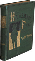 Books:Literature Pre-1900, Mark Twain. Adventures of Huckleberry Finn (Tom Sawyer's Comrade). With one hundred and seventy-four illustrations. ...
