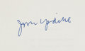 Books:Literature 1900-up, John Updike. The Centaur. New York: Alfred A. Knopf, 1963.The rare original Galley proofs. Signed by Updike on th...