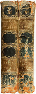 Books:Books about Books, Nathan Drake. Shakespeare And His Times: Including The Biography of the Poet; Criticisms on His Genius and Writings; A N... (Total: 2 Items)