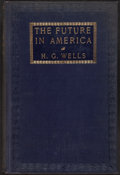 Books:Philosophy, H. G. Wells. The Future in America. New York: 1906...