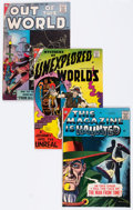 Silver Age (1956-1969):Science Fiction, Charlton Silver Age Science Fiction Comics Group (Charlton, 1950s)Condition: Average VG/FN.... (Total: 5 Comic Books)