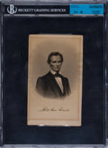 Autographs:Others, Circa 1860 President Abraham Lincoln Signed Autograph....