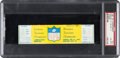 """Football Collectibles:Tickets, 1967 NFL Championship Game """"The Ice Bowl"""" Full Ticket, PSA NM-MT 8 - Highest Graded Example! ..."""