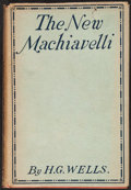 Books:Literature 1900-up, H. G. Wells. The New Machiavelli. London: 1911....