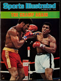 """Boxing Collectibles:Autographs, 1978 Muhammad Ali Signed """"Sports Illustrated"""" Magazine...."""