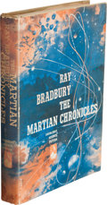 Books:Science Fiction & Fantasy, Ray Bradbury. The Martian Chronicles. Garden City, New York:Doubleday and Company, Inc., 1950. First edition in...