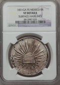 Mexico, Mexico: Republic 8 Reales 1831 Ga-FS VF Details (Surface Hairlines)NGC,...