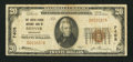 National Bank Notes:Colorado, Denver, CO - $20 1929 Ty. 1 The United States NB Ch. # 7408. ...