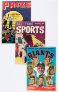 Golden Age (1938-1955):Miscellaneous, Comic Books - Assorted Golden Age Sports Comics Group (Various Publishers, 1950s) Condition: Average GD/VG.... (Total: 12 Comic Books)