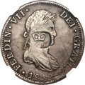 British Honduras, British Honduras: British Colony - George III countermarked 6 Shilling 1 Penny ND (1810-18) XF45 NGC,...