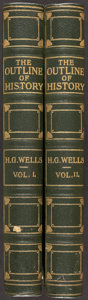 Books:World History, H. G. Wells. The Outline of World History. London: [1920].... (Total: 2 Items)