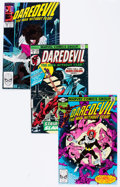 Bronze Age (1970-1979):Superhero, Daredevil Box Lot (Marvel, 1974-95) Condition: Average NM-....