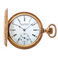 Timepieces:Pocket (post 1900), Private Label Illinois Hunter's Case Pocket Watch. ...