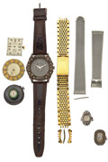 Timepieces:Other , A Lot Of Eight Miscellaneous Watch Items. ... (Total: 8 Items)
