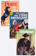 Golden Age (1938-1955):Miscellaneous, Dell Golden Age Short Box Group (Dell, 1950s) Condition: Average VG/FN....