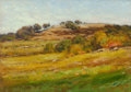 Fine Art - Painting, American:Modern  (1900 1949)  , CARLETON WIGGINS (American, 1848-1932). Autumn at Lyme,circa 1915. Oil on panel. 10 x 14 inches (25.4 x 35.6 cm). Signe...
