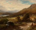Fine Art - Painting, American:Antique  (Pre 1900), WILLIAM M. HART (American, 1823-1894). Lake Windermere,England. Oil on canvas laid on Masonite. 24 x 29-1/2 inches(61....