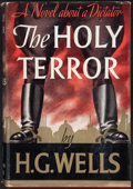 Books:Literature 1900-up, H. G. Wells. The Holy Terror. New York: 1939....