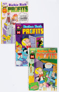Bronze Age (1970-1979):Cartoon Character, Richie Rich Profits #1-47 Complete Run File Copy Short Box Group(Harvey, 1974-82) Condition: Average NM-....