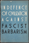 Books:Philosophy, [H. G. Wells, contributor]. In Defence of Civilization Against Fascist Barbarism. Moscow: 1941....